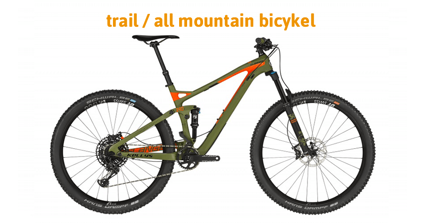 Trail / all mountain bicykel
