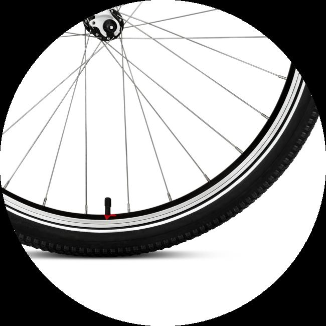 WOOM kolesá