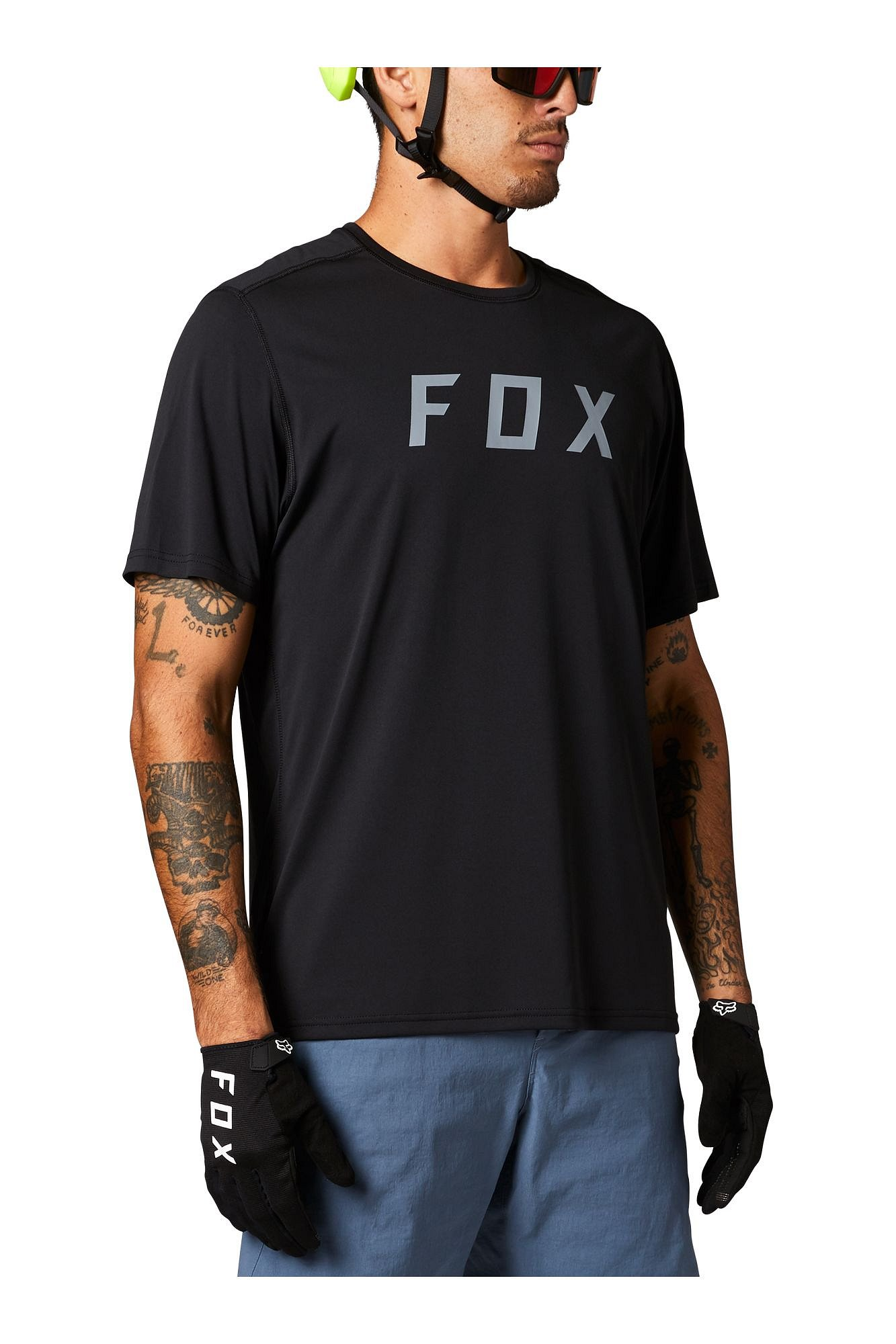 Fox Ranger Ss Jersey Fox, black