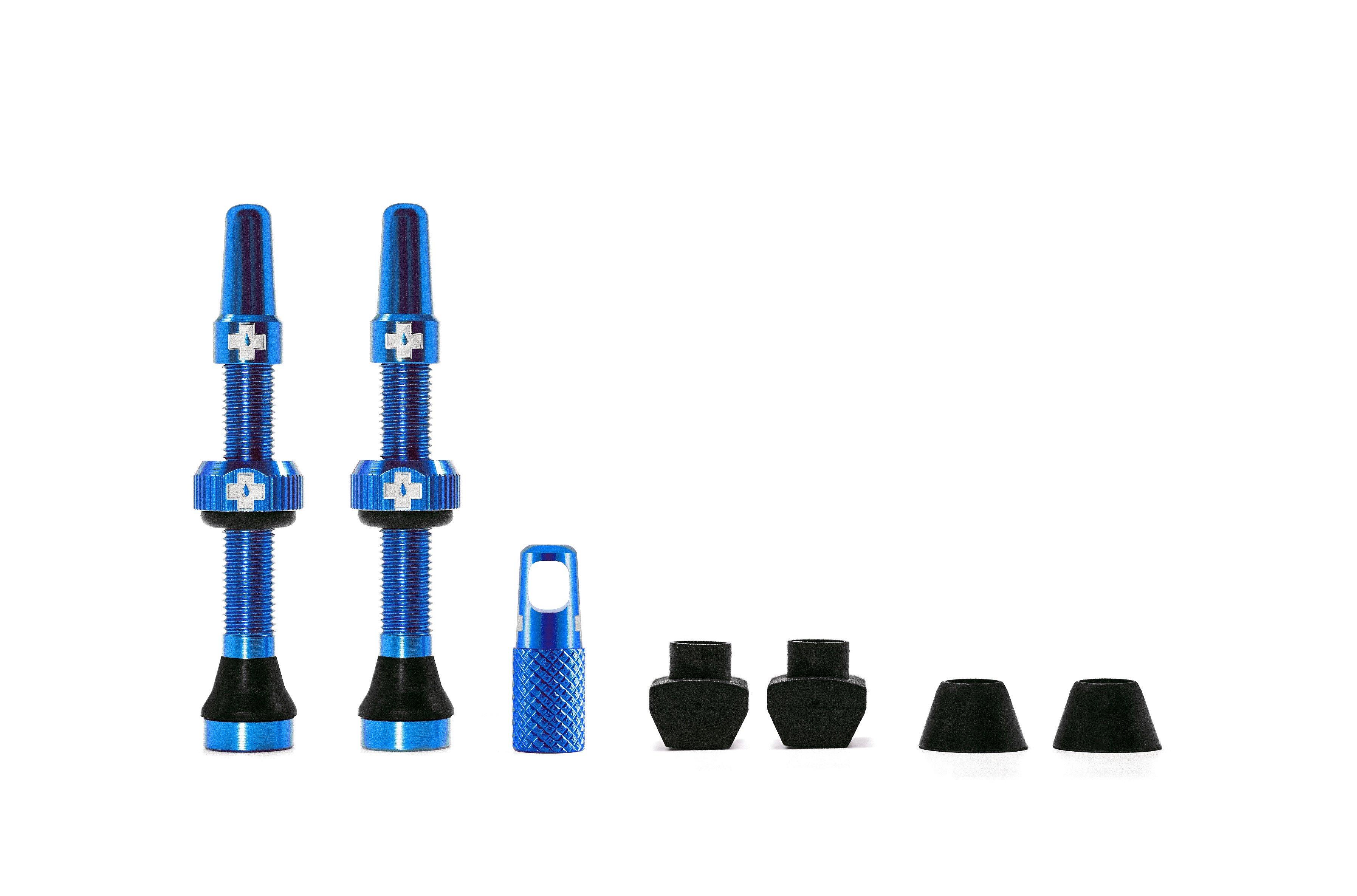 Muc-Off Tubeless Valves 44 mm Blue