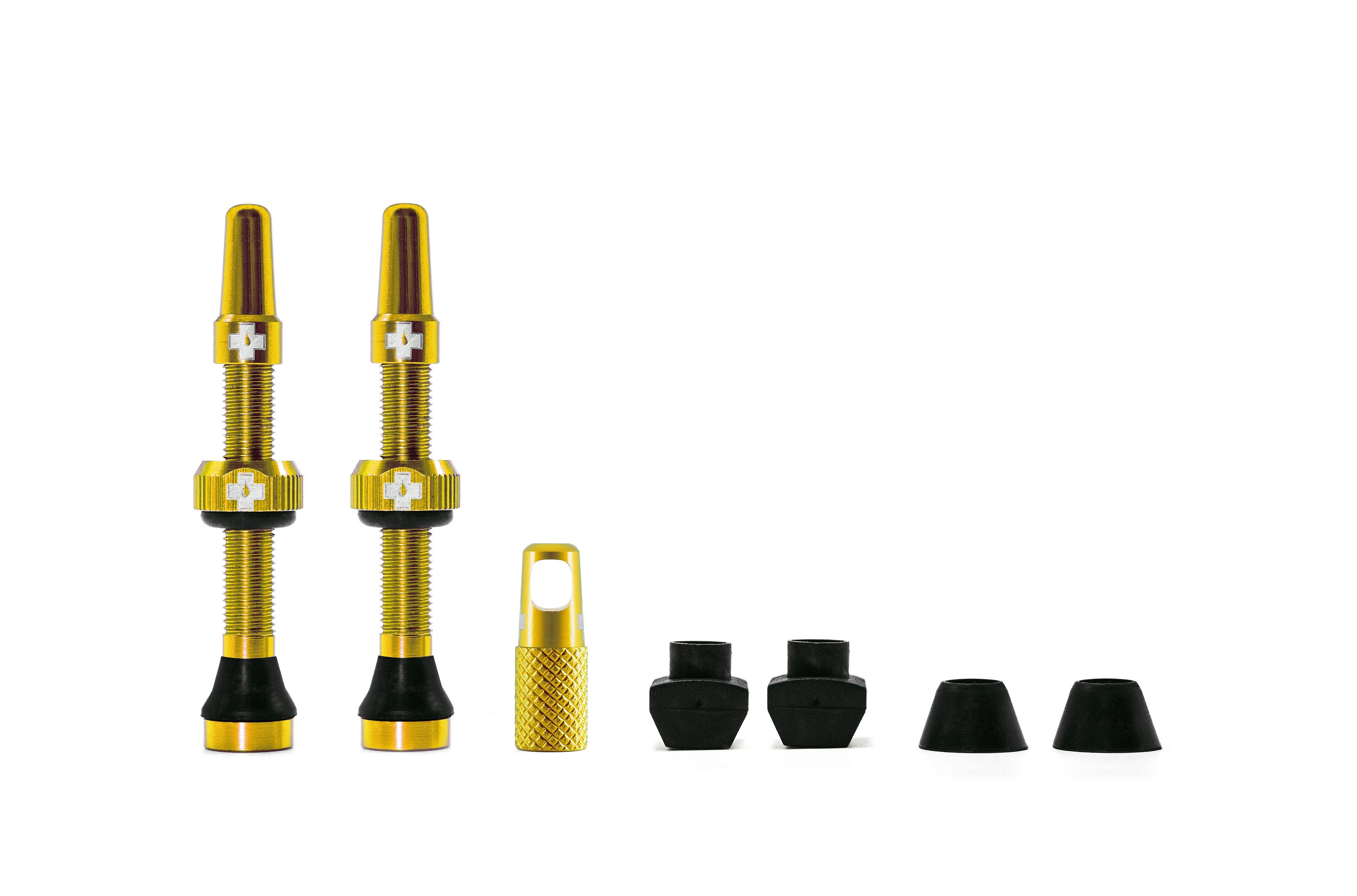 Muc-Off Tubeless valves 44mm Gold