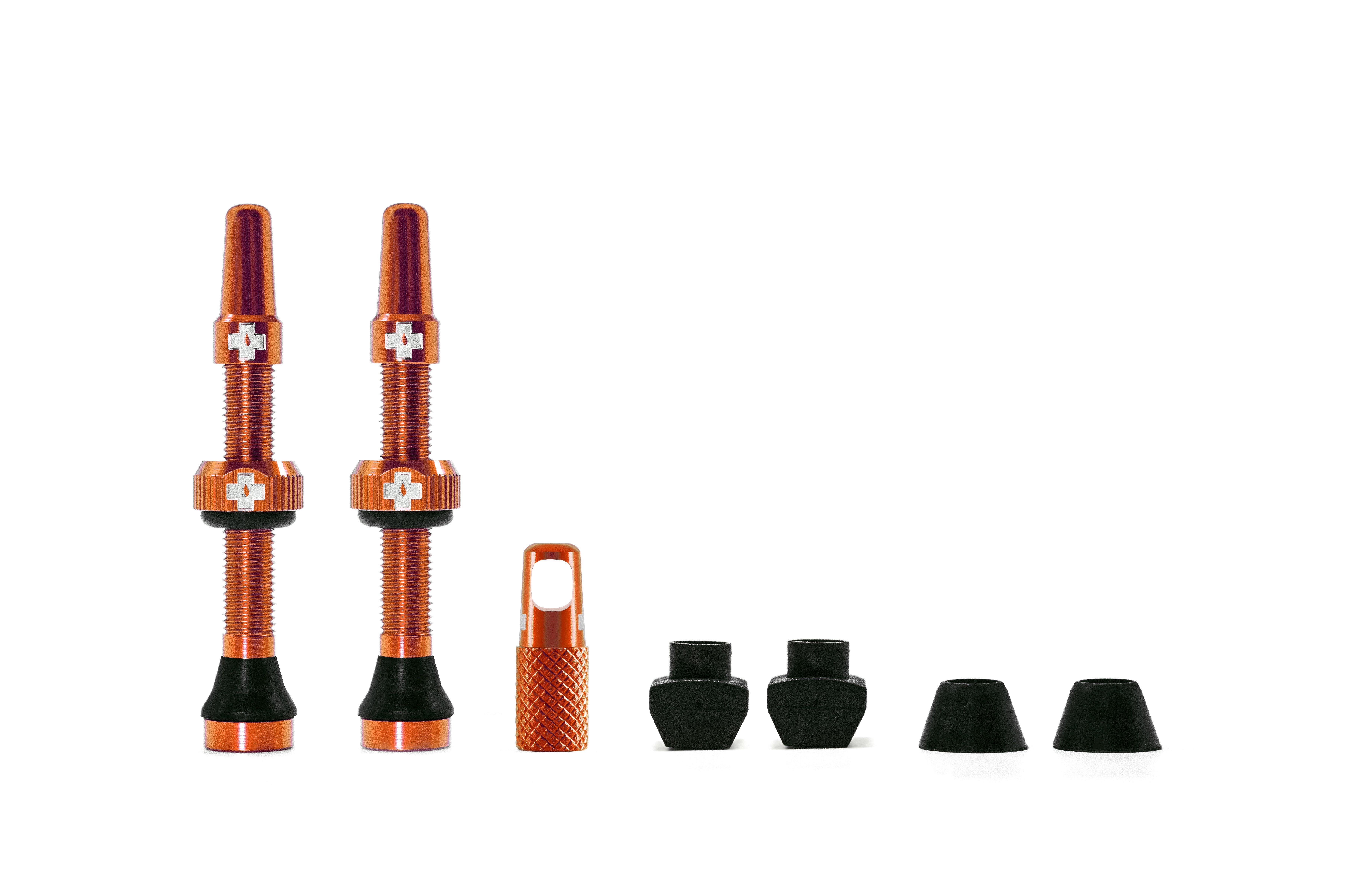 Muc-Off Tubeless Valves/44mm/Orange
