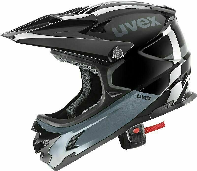 UVEX HLMT 10 BIKE, black grey, 58 - 60 cm