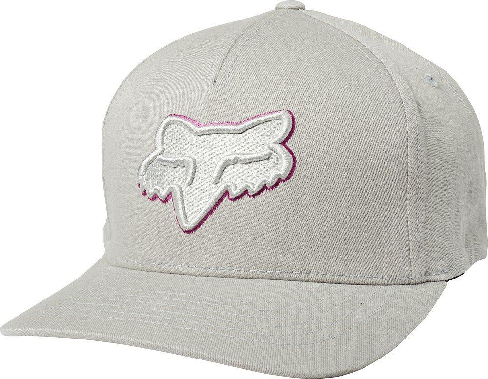 Pánská šiltovka Fox Epicycle Flexfit Hat, Grey/Pink