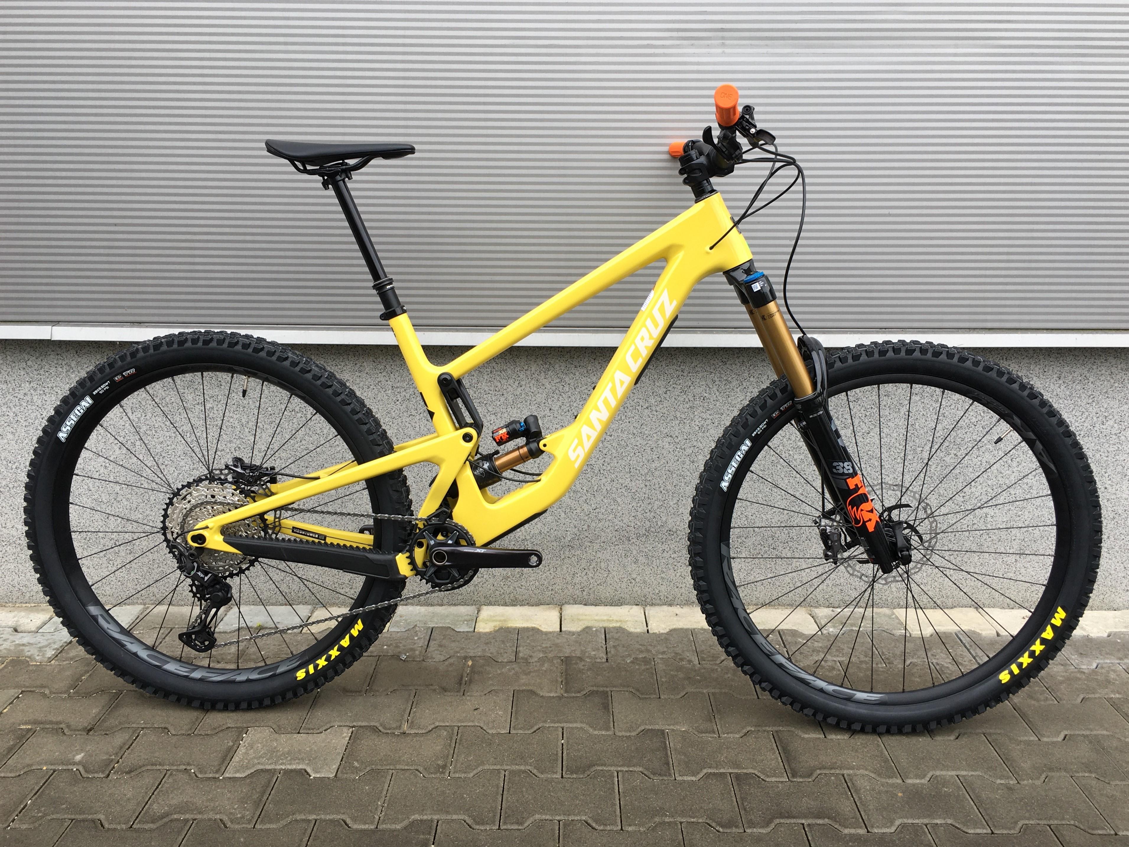 SANTA CRUZ Megatower 1 CC 29 2021, XT, Factory, amarillo yellow, XL