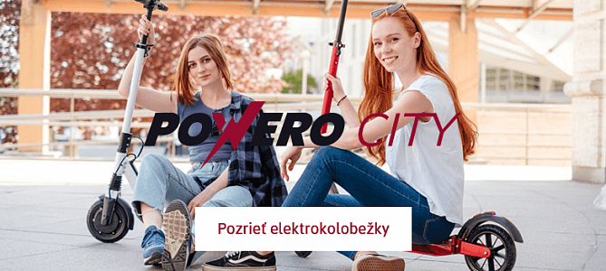 Elektrokolobežky Powero City