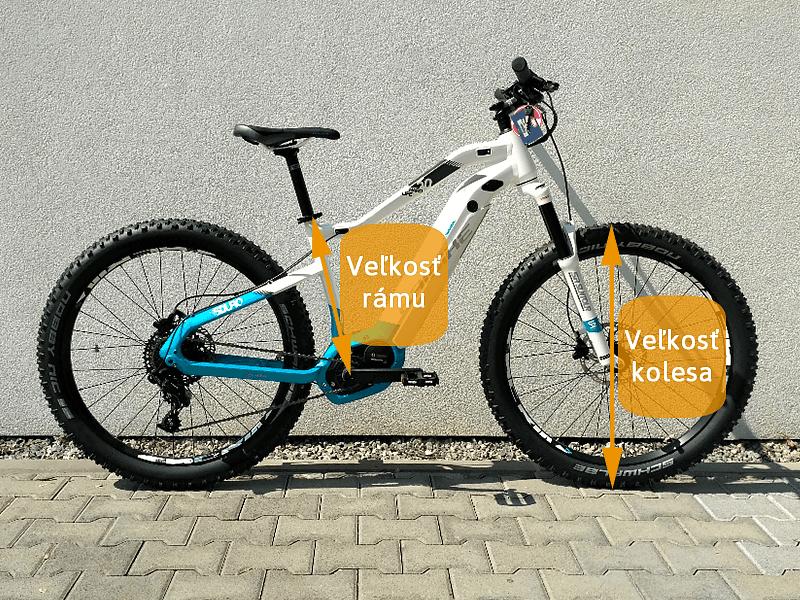 057d82ae5 Ako vybrať veľkosť bicykla - pánsky, dámsky, detský | kubicasport.eu