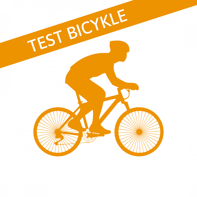 Test bicykle