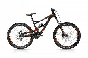 Freeride a downhill bicykle