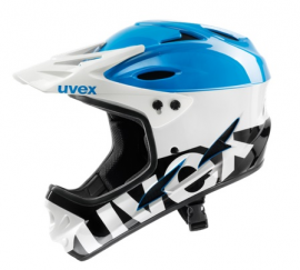 UVEX HLMT 9 BIKE, white/blue, 59 - 60 cm