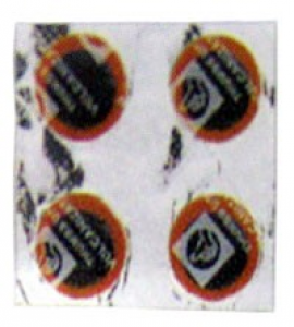 Záplaty pr.15mm / cena za ks