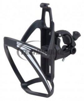 Košík PRO-T plast na riadítka, čierna/biela