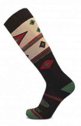 Ponožky SHERPAX AIGER, hnedá