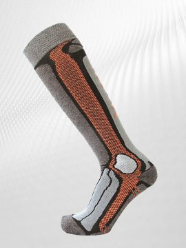 Ponožky SHERPAX DUNAGIRI P, šedá