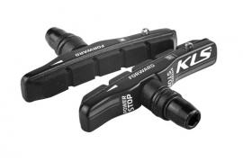 Brzdové gumičky KLS POWERSTOP V-01 cartridge (pár)