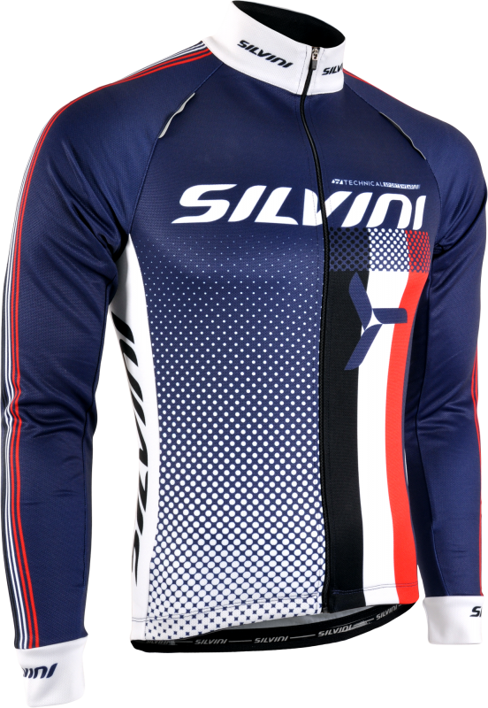Dres SILVINI TEAM MD833, navy