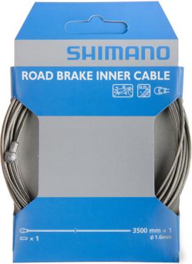 Brzdové lanko SHIMANO, cestné, tandem, nerez, 3500x1,6 mm