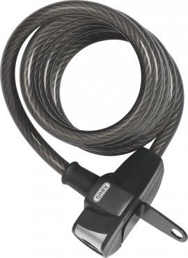 Zámok ABUS Booster 670, lankový zámok, špirála, čierna