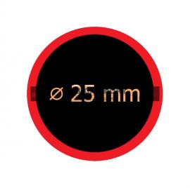 Záplata THUMBS UP 25mm, cena za 1 ks