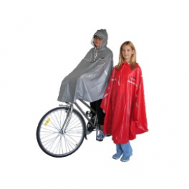 Pršiplášť-PONCHO cyklist.pre dosp.,modrý UNI