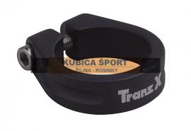 Objímka podsedlová TRANZ-X 28.6, čierna