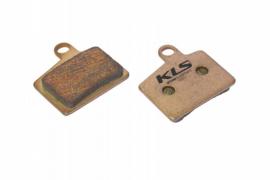Brzdové platničky KLS D-06S, sintrované (pár)