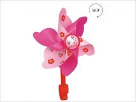 Vrtuľa na riadidlá, ružová