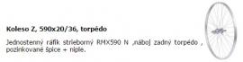 """Koleso 26 1 3/8""""-Z, torpédo"""