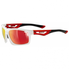 UVEX okuliare s sportstyle 700, white red