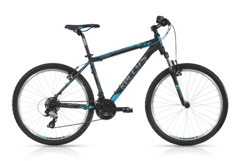 "KELLYS Viper 10 Black Blue 26""  2017"