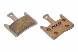 Brzdové platničky KLS D-07S, sintrované (pár)