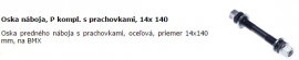 Oska náboja, P kompl. s prachovkami, 14x 140