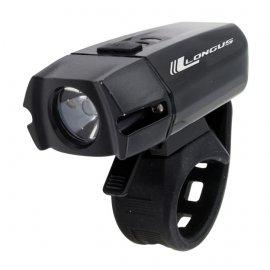 Svetlo predné LONGUS XPG400 LED/6F USB, 400LM, čierne