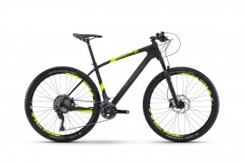 "HAIBIKE Greed HardSeven 4.0 27,5""  2017, carbon/neon žltá"