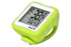 Bezkáblový tachometer KLS REFLEX, lime