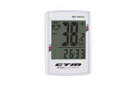 Bezkáblový tachometer CTM, BD-20W, biely, 20F