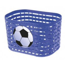 Detský košík, lopta, modrý