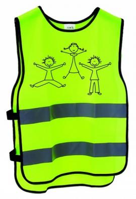 Reflexná vesta, detská, XXS-XS