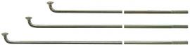 Špice zinkované 2 x 305 mm