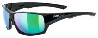 UVEX SPORTSTYLE 222 pola, black green, S3