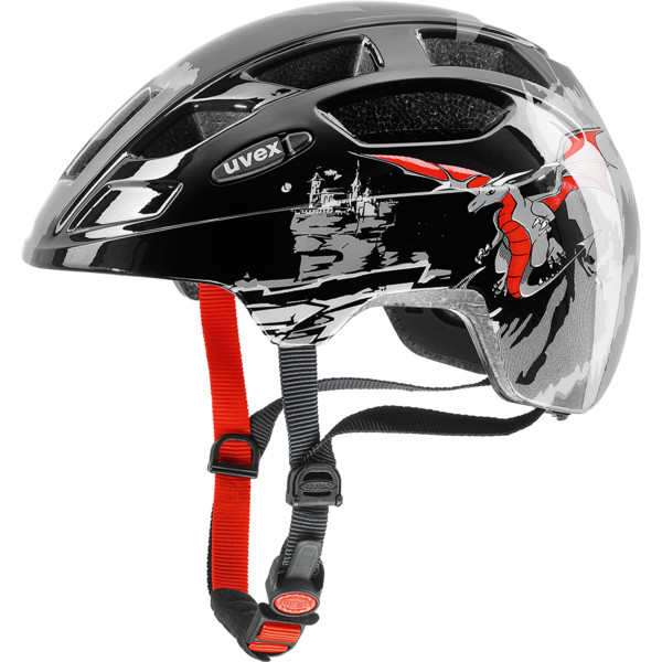 UVEX FINALE JUNIOR, dragon red black