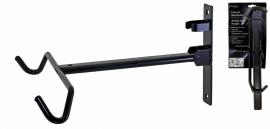 Stojan - držiak bicykla nástenný - sklápací za rám