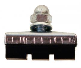 Špalík brzdový 40 mm s maticou, cena za pár