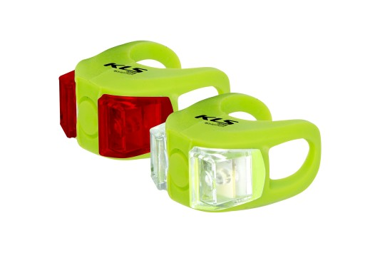 Sada svetiel KLS TWINS, lime green