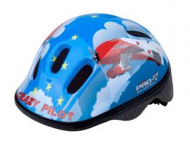 Prilba PRO-T Fafe detská, modrá, crazy pilot, XS 44-48 cm
