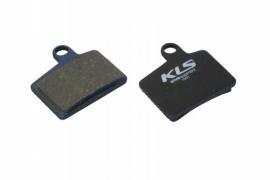 Brzdové platničky KLS D-06, organické (pár)
