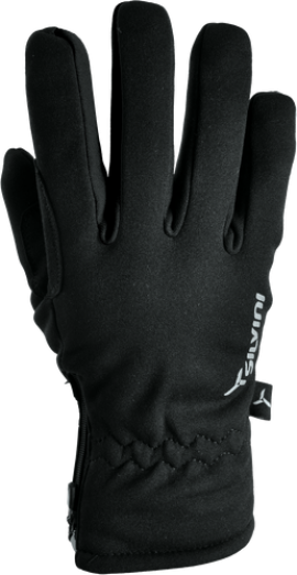 Dámske rukavice SILVINI TRELCA WA734, čierne