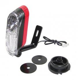 Svetlomet E-Bike SmartLight Trelock cervená+cerná,p.Bosch Act.+Perf. Haibike