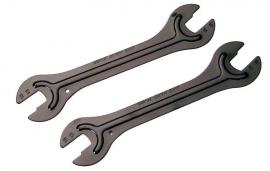 Kónusový kľúč 2ks set, kalený 13-15mm a 14-16mm