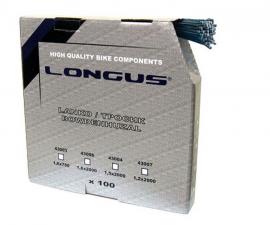 Brzdové lanko LONGUS ROAD, 2000 mm, box 100 ks